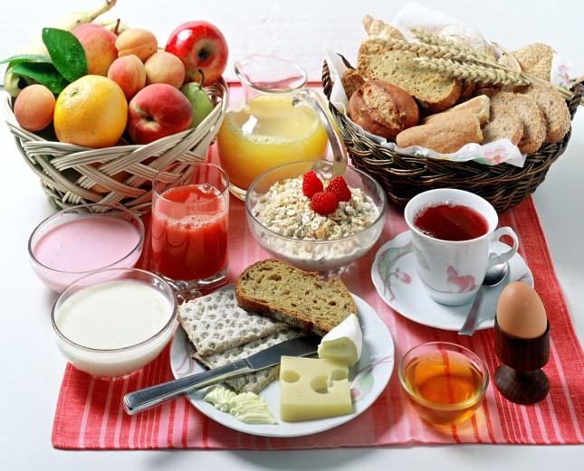 Πλούσιο πρωινό